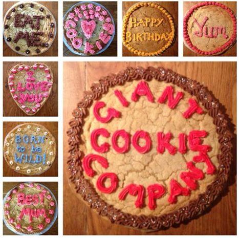 Giant cookies  www.giantcookiecompany.wordpress.com
