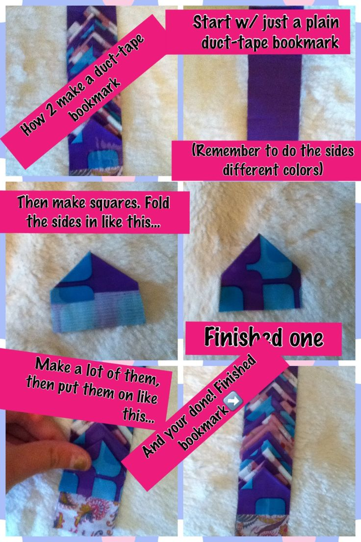 How to make a duct tape bookmark this is a m a z i n g for Duct tape bookmark ideas