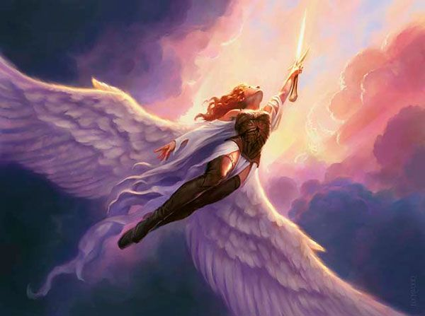 todd lockwood ange de lumière