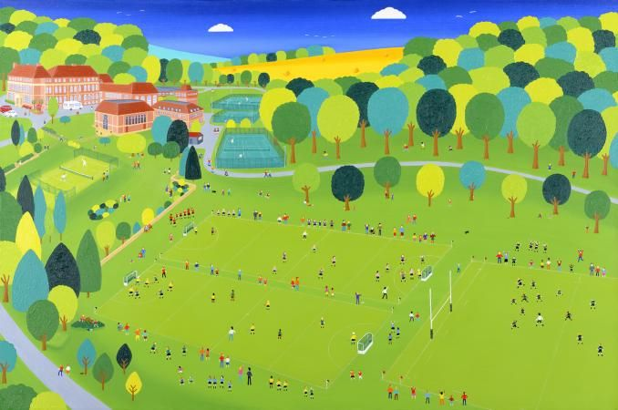 Peter Allwright - Windlesham House School