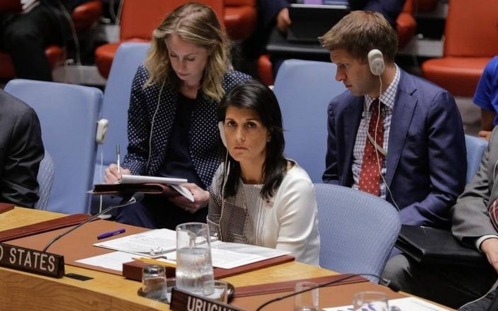 Nikki Haley condemns 'collective failure' by global leaders to help Africa