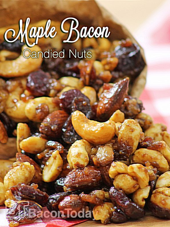 candied nuts recipe bacon candied candied pecans maple bacon bacon ...
