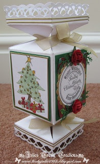 Julies Crafty Creations: Who would like my christmas cracker template