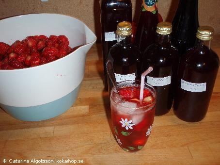 Recept - Saft med saftmaja