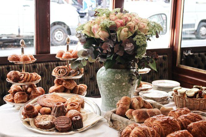 Breakfast at Ladurée,Paris 8th district (F8) 75 Avenue des Champs Elysees Metro: George