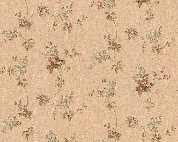 AS Cration Tapete 959281 Beige Bunt Floral Landhaus Flur