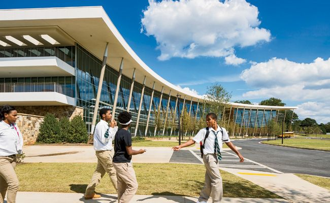 Charles R. Drew Charter School by Perkins+Will: Form and Function - School Architecture