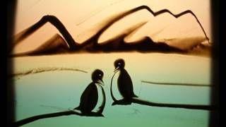 """Sand Art by Ilana Yahav - SandFantasy - """"Green Dream"""", via YouTube."""