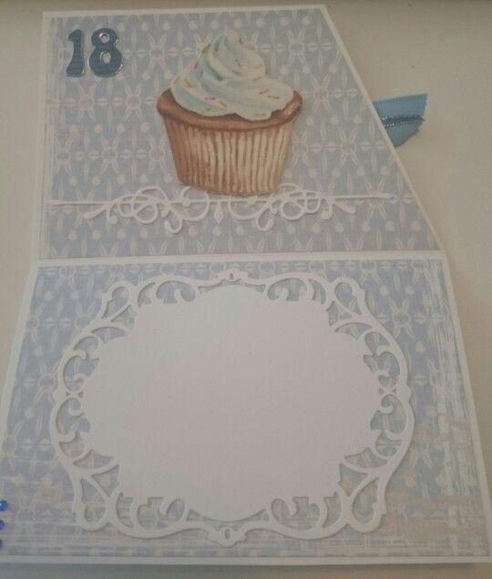 18 års fødselsdagskort - åbent