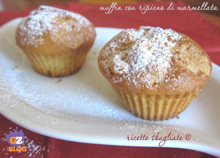 Muffin con ripieno di marmellata!
