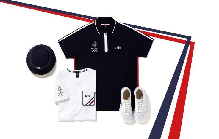 Lacoste et C.P.S.F (Comité Paralympique et Sportif Français) dévoilent les tenues officielles de la délégation française aux jeux olympiques et...
