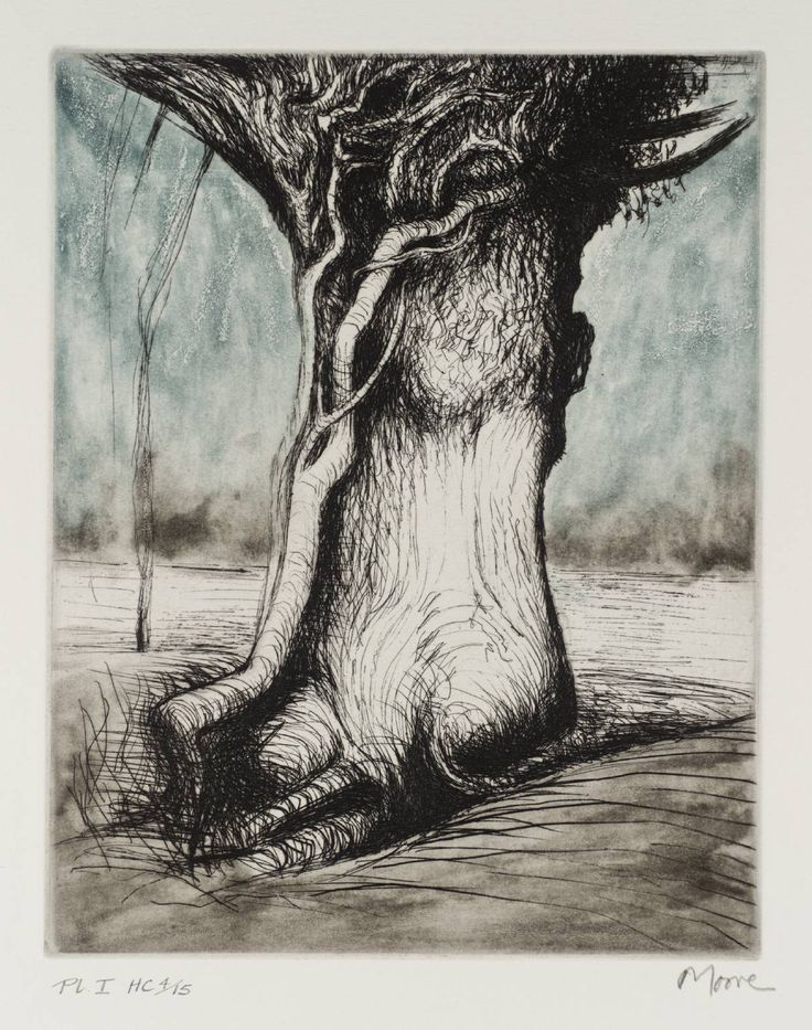 Henry Moore OM, CH 'Trees I Bole and Creeper', 1979 © The Henry Moore Foundation, All Rights Reserved, DACS 2014