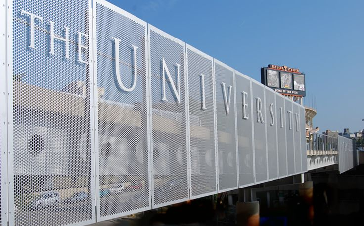 Architectural metal screen perforated fencing screen for Architectural metal concepts nj