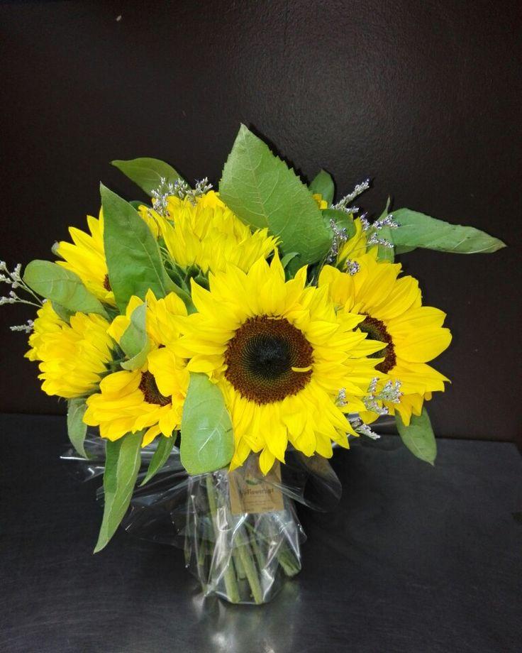 Bouquet de Girassóis pra Aniversário