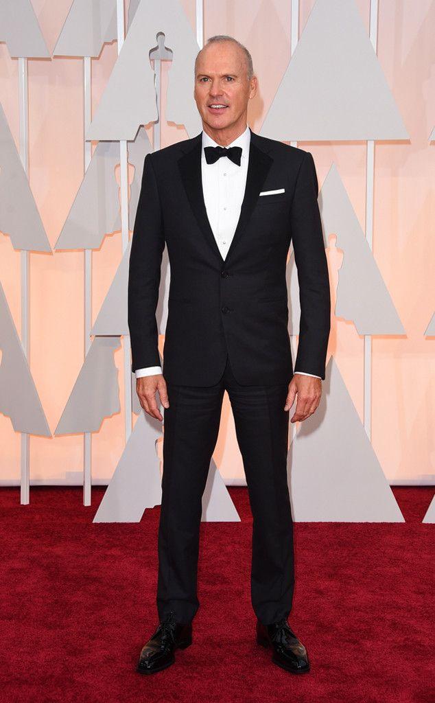 Michael Keaton in Ralph Lauren at the Academy Awards 2015 | #2015Oscars #redcarpet #bestdressed
