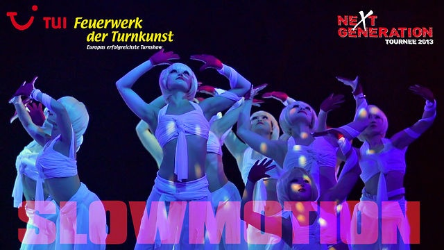 SENT BY ALEX AT CHILLY AND FLY. TUI Feuerwerk der Turnkunst 2013 - Slowmotion by AMVIDEO