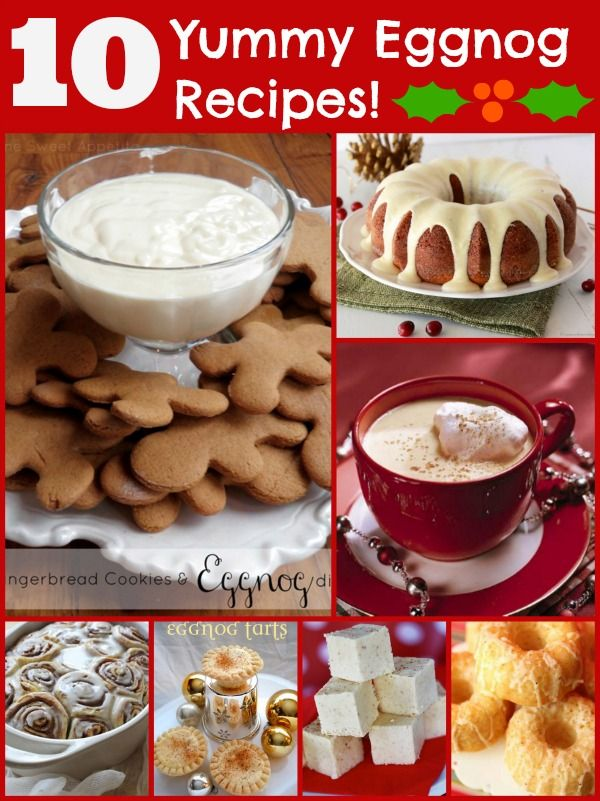 10 yummy eggnog recipes!