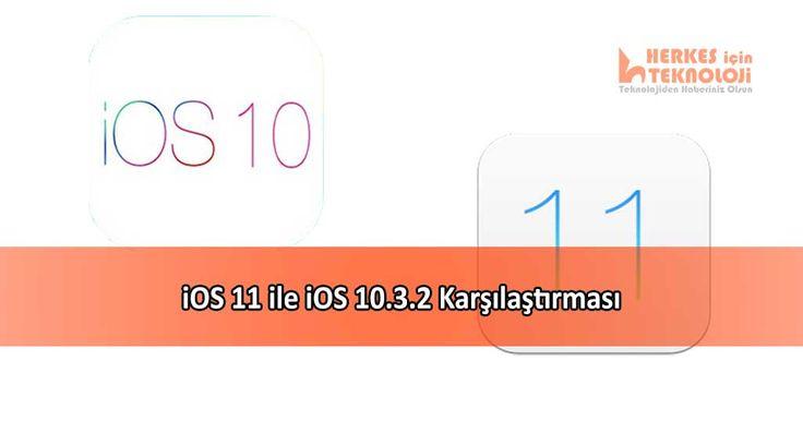 Apple'ın geçtiğimiz günlerde duyurduğu yeni mobil işletim sistemi versiyonu iOS 11'in yayınlanan ilk Beta'sı ile iOS 10.3.2'nin performansı karşılaştırıldı.
