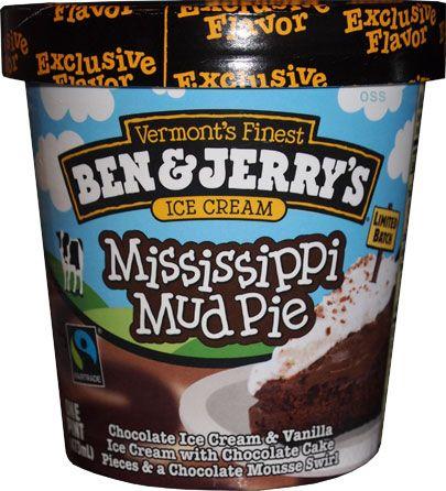 Ben & Jerry's new walmart exclusive ice cream - Mississippi Mud Pie