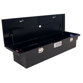 Shop Kobalt Fullsize Black Aluminum Truck Tool Box at Lowes.com $280