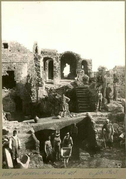 The excavations Lindos-Rhodes 1903