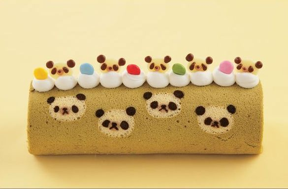Kawaii Swiss Cake Roll