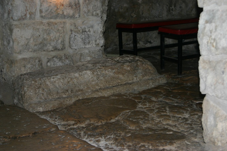 These stones comprised the courtyard of the Antonia Fortress. The very place prisoners were prepared for crucifiction. Mark 15:15-20