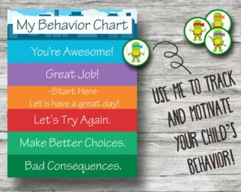 Printable Frozen Behavior Chart Instant Download Anna by PipPrints