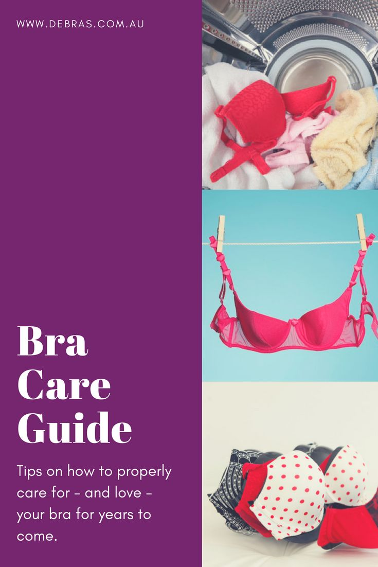 Whenwas the last time you washed and laundered that bra you're wearing right now? Here are some tips on how to properly care for - and love - your bra for years to come. www.debras.com.au