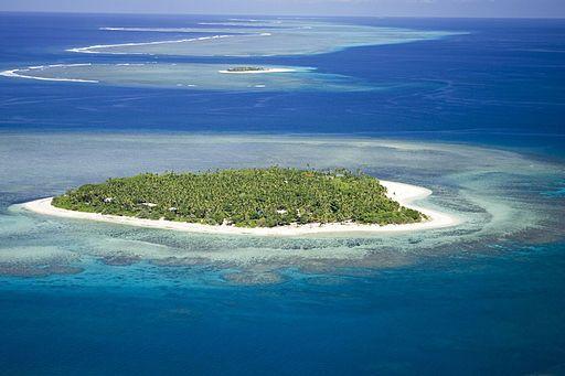 Ini deretan pulau berbentuk hati