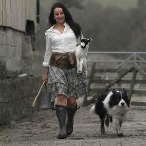 The Barefoot Shepherdess Alison O'Neill. What a woman, what a lifestyle. www.shepherdess.co.uk