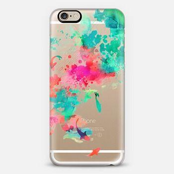 Lots of cute transparent iPhone 6 plus cases