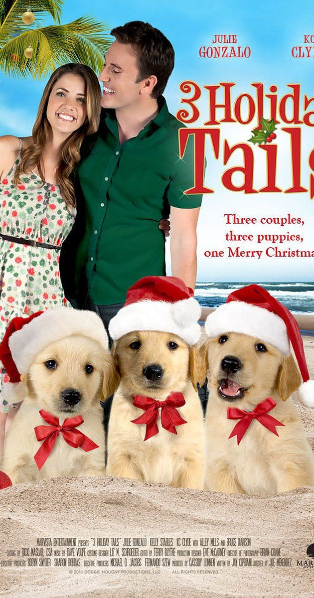 A Golden Christmas 2: The Second Tail: Directed by Joe Menendez.  With Julie Gonzalo, Kelly Stables, K.C. Clyde, Alley Mills. Old flames reunite and sparks are reignited at Christmastime in Florida, but the man is already engaged to another woman so a recently retired couple try to intervene with the help of their dogs.