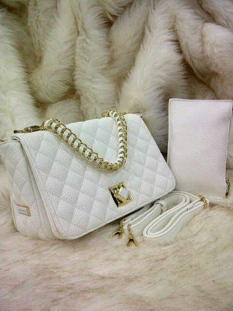 Charles&keith bags  Material leather elastic  Semi Premium Quality  Price $40 / £26
