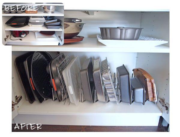 organizing the kitchen part three - Kitchen Cabinet Organizers Ikea
