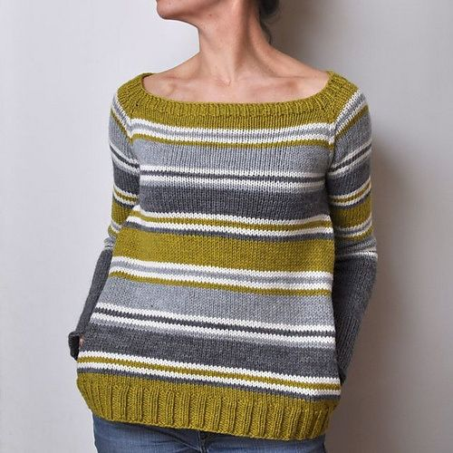 Ravelry Roundup - Stripes! My favourite stripey knitting patterns on Ravelry...
