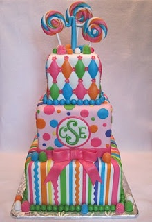 Candy Land Cake- a perfect combination of our love for cake & candy!