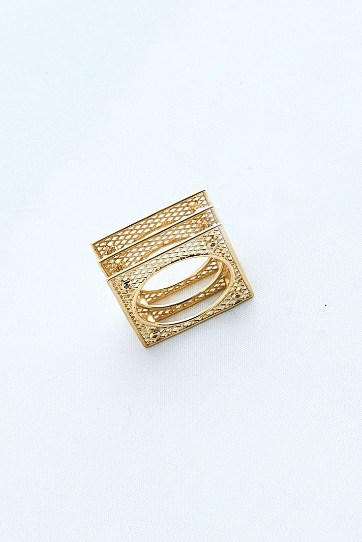18 Gold Carat ring with 8 brilliant round cut white diamonds.Inspired from Ancient Greek Jewelry
