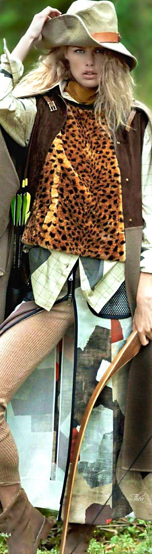 Safari  Chic  |  leopard strips and prints
