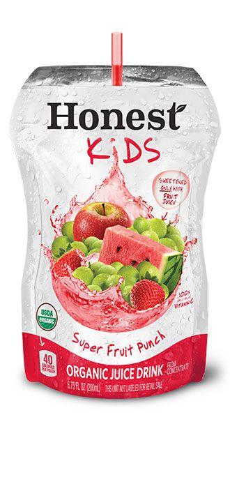 Super Fruit Punch   Honest Kids