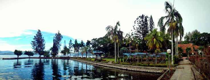 July, 2013, Tuk-tuk, Samosir Island, North Sumatra, Indonesia