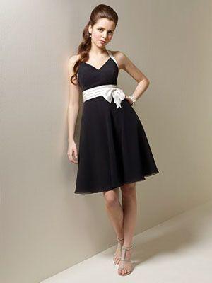 Google Image Result for http://wedwebtalks.com/wp-content/uploads/2011/05/short-black-and-white-bridesmaid-dress.jpg