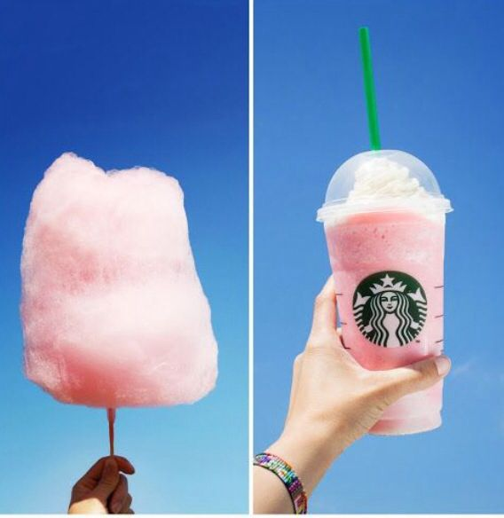 cotton candy Starbucks!!!