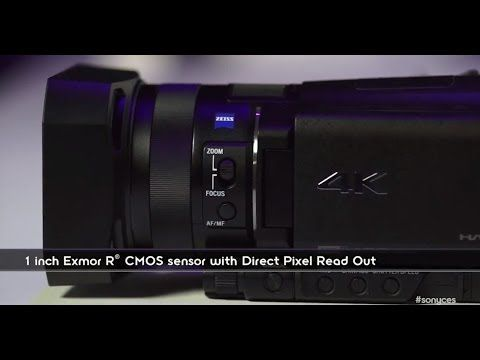 CES 2014 FIRST LOOK! New Sony 4K Handycam® FDR-AX100