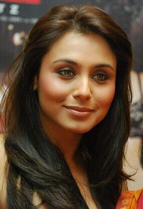Rani Mukherjee in minimal make-up