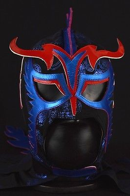 ULTIMO DRAGON Pro Grade Mask Mexican Wrestling Mask Lucha Libre Luchador Costume