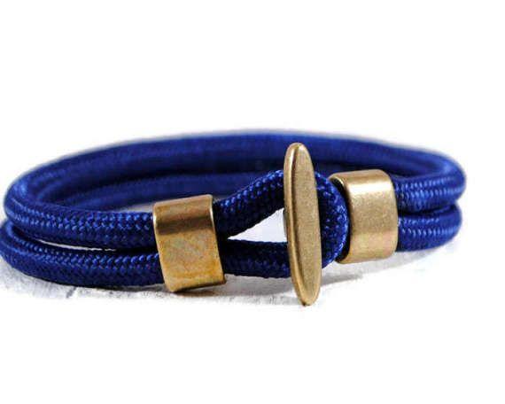 Men's Hook Cord Bracelet. Men's Stacking Paracord