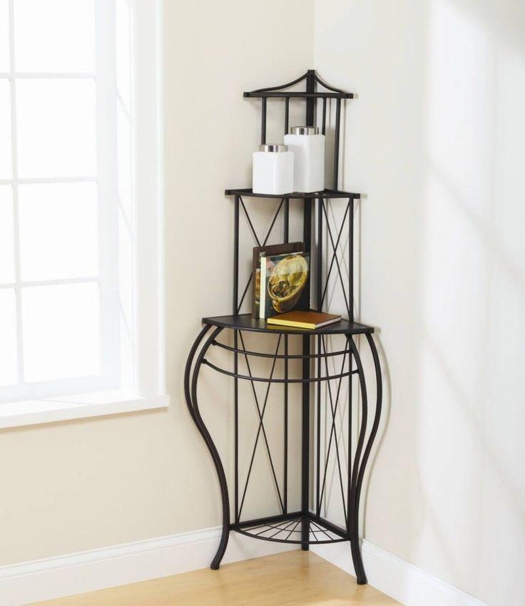 17 best ideas about bakers rack decorating on pinterest. Black Bedroom Furniture Sets. Home Design Ideas