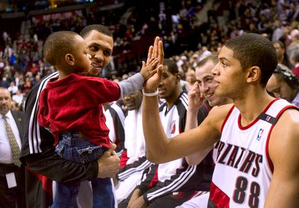 """Brandon has an extraordinary sense of composure"" - From a 2009 Oregonian blog, taken from an interview that Nicolas Batum gave about Brandon Roy."