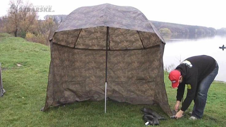 Rybársky dáždnik z nepremokavého materiálu s odnímateľnými bočnicami. http://www.rybarskepotrebyryba.sk/clanky/34/PRODUKT-TYZDNA-Dazdnik-Mivardi-Camou-Pvc/